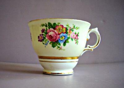 Vintage Antique Colclough Floral Bone China Footed Tea Cup (only) - No Saucer
