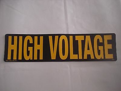Southern California Edison HIGH VOLTAGE 3M Diamond Grade Sheet Reflective Decal