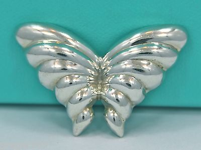 Tiffany & Co. Mexico Butterfly Sterling Silver 925 Pin Brooch *RARE*