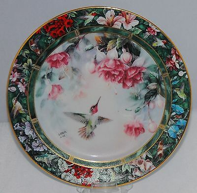 Lena Liu The Anna's Hummingbird Collector Plate Treasury Collection
