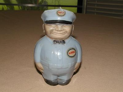 1950's Humble Oil Service Station Attendant Coin Bank - Complete