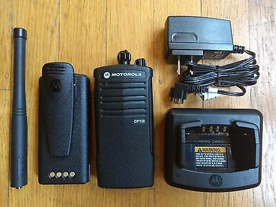 Motorola CP110 VHF MURS Two-way radio. Compatible with Walmart RDM2070d