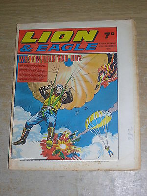 Lion & Eagle 13th December 1969