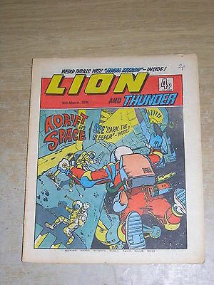 Lion & Thunder 16th March 1974