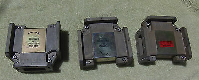 Lot Of 3 Waveguide Isolators, 6 Ghz, Ferrocom  609, From Microwave Radios, Wr137