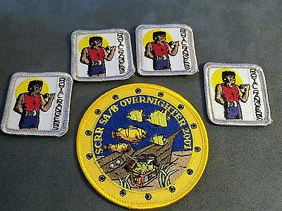 Royal Rangers Sew-on  Patches lot of 5 - NEW