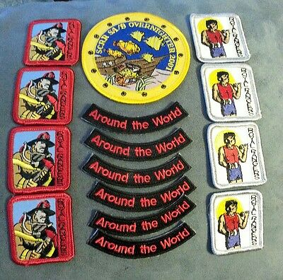 Royal Rangers Sew-on  Patches lot of 15 - NEW