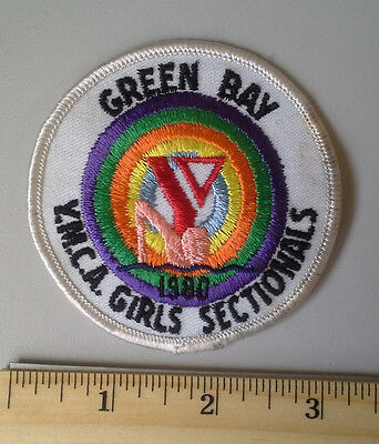 GREEN BAY YMCA GIRLS SECTIONALS 1980 Swimming Vintage Collectible Patch