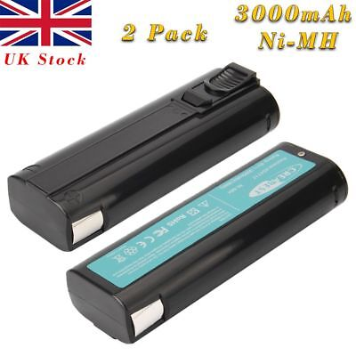 2Pcs 3000mAh 6V Ni-MH Battery For Paslode 404717 900400 902000 IM350 IM250 IM65A