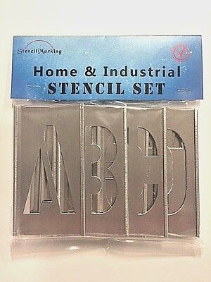"Interlocking Stencil 1""- 6"" Set A-Z"