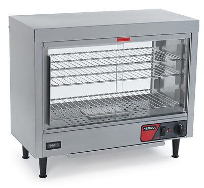 Nemco 6460 Lighted Heated Deluxe Display Case W/ Humidity