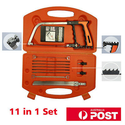 11 in 1 Saws And Hacksaw Frame Set Woodworking Family Essential Tools Saw DIY