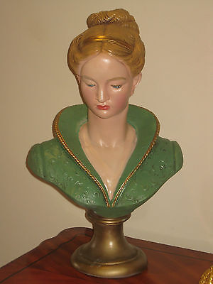 Large French Bust Of Possibly Madame Pompadour
