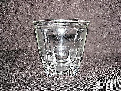 Antique Clear Glass 4 Footed 2 Cup 16 Ounce Measuring Cup Patent Applied For