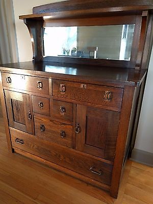 Authentic Charles Limbert Arts & Crafts Sideboard
