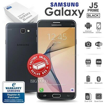 New Factory Unlocked Sealed SAMSUNG Galaxy J5 Prime SM-G570Y Android Smartphone