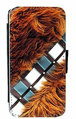 Star Wars Chewbacca Art Leather Flip Phone Case Cover for iPhone & Samsung D18