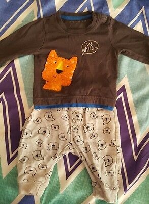 0-3 baby boys outfit