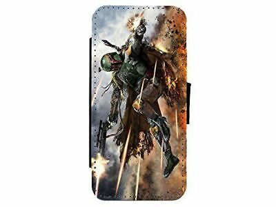 Star Wars Art Leather Flip Phone Case Cover for iPhone & Samsung D21