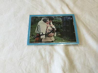 Deborah Watling Dr. Who hand signed trading card Doctor Who