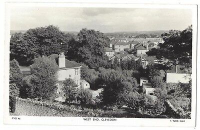 CLEVEDON The West End, RP Postcard by Tuck, Unused