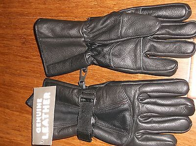 Men's Leather Gloves Size L  New With Tags