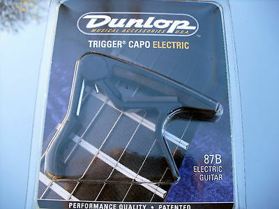 DUNLOP 87B Trigger Capo electric- pour guitare electric- NEW
