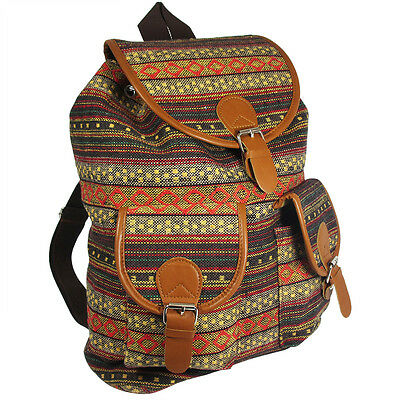 Oaxaca Canvas Backpack - Casual Daypack, Best Girls Book Bag For College, School