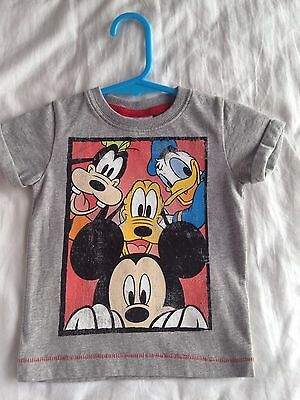 Next Disney Mickey Mouse Baby Boy T-Shirt Size 3-6 Months