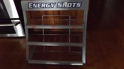 RED BULL Retail Store Display Wire Rack--Used