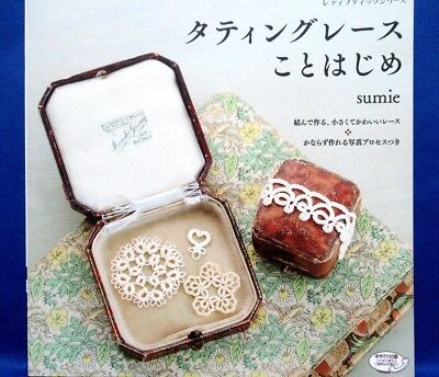 Pretty Tatting Lace /Japanese Knitting Craft Pattern Book Brand New!