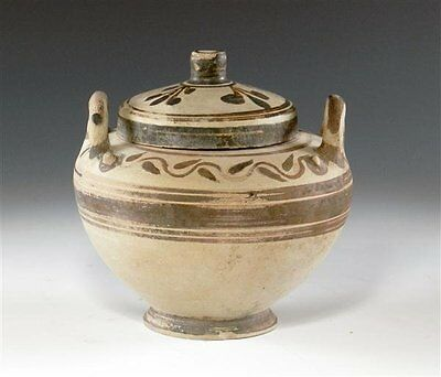 Ancient Messapian Pottery Lebes Gamikos - Canosa - Apulian Antiquities - Greek
