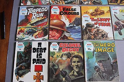 15 x WAR PICTURE LIBRARY Comics - all in the 1000's  (G)