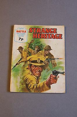 Battle Picture Library no 799 - STRANGE HERITAGE