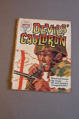 NUMBER TWO ! Battle Picture Library no 2 - DEVIL'S CAULDRON - No 2 :-)
