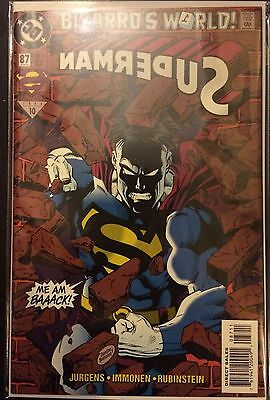 Superman (Vol 2) #87 VF NM- 1st Print DC Comics