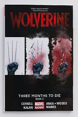 Wolverine Three Months To Die Book 2 Marvel Now Graphic Novel Comic Book