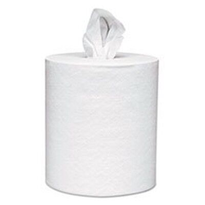 * SCOTT Roll-Control Center-Pull Towels, 8 x 12, White, 700/Roll, 6 Rolls/Carton