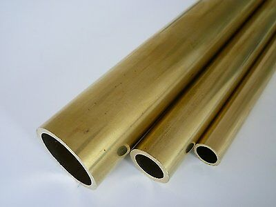 "K & S Metals Brass Tube Tubing 12"" length single tube supplied model engineering"