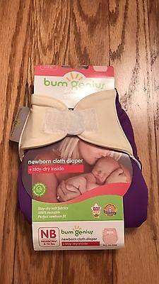NIP Bumgenius newborn cloth diaper,