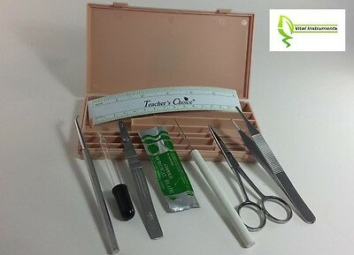 Dissecting Dissection Kit Set Medical Student Hard Case Lab Teachers Choice NEW