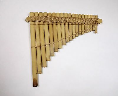 Rare Old Solomon Islands Bamboo Pan Pipes