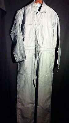 WALLS Master Made Mechanic Worker Coveralls Size Large Tall Relaxed Fit