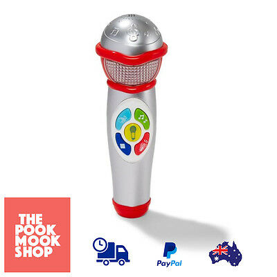 Sing-A-Tune Microphone Toy Mic Kids Singing Music Sound Toys Light Musical Party