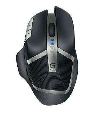 Logitech G602 Wireless Gaming Mouse PC and Mac With 250 Hour Battery Life