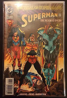 Superman (Vol 2) #107 VF NM- 1st Print DC Comics