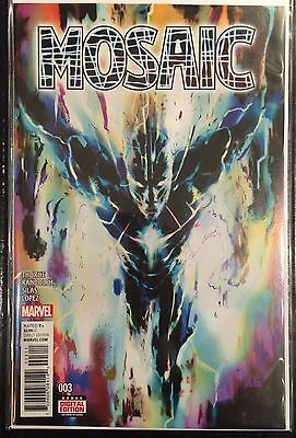 Mosaic #3 NM- 1st Print Marvel Comics