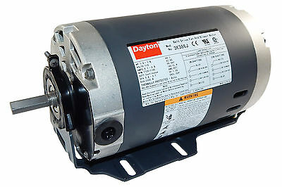 1/3hp 1725 RPM 2-speed 115V Whole House Fan Motor Dayton 3K386