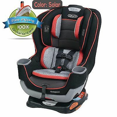 Graco Extend2Fit Convertible Car Seat 1963212 Solar - Best Price - Free Ship HOT