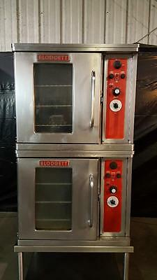 Blodgett CTB-1 Double Stack Half Size Electric Convection Oven